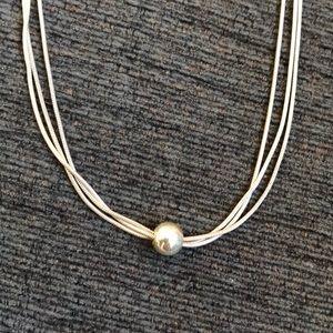 Silpada Multi-Strand Ball Necklace